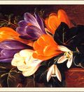 bs flo Johan Laurentz Jensen Crocus On A Table