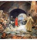 ls Sorolla 1887 El padre Jofre protegiendo a un loco