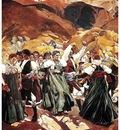 ls Sorolla 1914 La jota Aragon