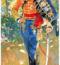 ls Sorolla 1907 Alfonso XIII con uniforme de husares