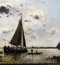 Jongkind Johan Berthold Near Dordrecht