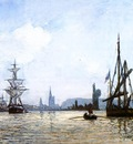Jongkind Johan Berthold View of Rouen