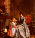 Lanfant de Metz Francois Louis The New Nanny