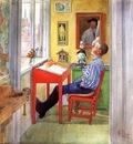 Larsson Carl Esbjorn Doing His Homework