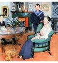 ls Larsson 1902 Hakon, Daga and Edgar watercolor
