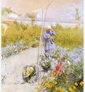 ls larsson2 10 en la huerta jardin watercolor