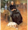 ls larsson2 16 retrato de gothilda furstenberg watercolour