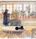 ls larsson2 28 la ventana con flores 1894