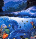 Lassen, Christian Riese Beyond the Reef left panel end