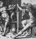 Leyden van Lucas Mars Venus and Cupido Sun