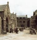 Sortie de leglise Saint Melaine a Morlaix