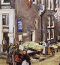 Liebermann Max Jewish quarter Amsterdam Sun