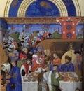 Limbourg bros Les tres riches heures du Duc de Berry  Janvie