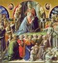 Lippi Coronation of the Virgin, 1441 47, 200x287 cm, Uffizi