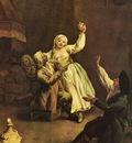 Allegra Coppia  1735 40  Venezia Ca Rezzonico