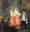 Venditrice di frittelle  1757  Venezia, Ca Rezzonico