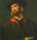 LOTTO PORTRAIT OF A MAN, BUDAPEST