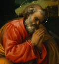 LOTTO THE NATIVITY, 1523, DETALJ 2, NGW