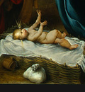 LOTTO THE NATIVITY, 1523, DETALJ 4, NGW