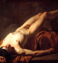 David Jacques Louis Male Nude known as Hector