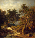 Achenbach Andreas Landscape with a Stream