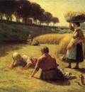 Adams John Ottis Gleaners at Rest aka Nooning