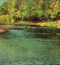 Adams John Ottis Irridescence of a Shallow Stream