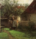 Adams John Ottis Wash Day Bavaria