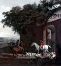 Agasse Jacques Laurent Departure to the Hunt