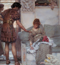 Alma Tadema A Silent Greeting