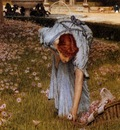 Lawrence Alma Tadema Flora, De