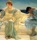 Lawrence Alma Tadema Ne me demande plus detail , De