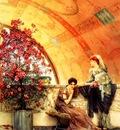 Lawrence Alma Tadema Rivales inconscientes de letre, De