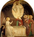 Fra Angelico Christ Resurrected and the Maries at the Tomb c