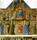 Fra Angelico Coronation of the Virgin Altarpiece from San