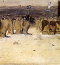 Arntzenius Floris Figures On The Beach Scheveningen