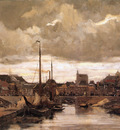 Arntzenius Floris Haringkade With Signpost In Scheveningen