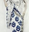 bakst helene de sparte costume for ida rubinstein as helene