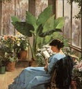Bannerman, Frances Jones The Conservatory end