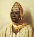 Bartolini Frederico Portrait Of An Arab Woman