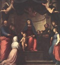 BARTOLOMEO Fra The Marriage Of St Catherine Of Siena