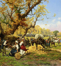Barucci Pietro The Horse Fair