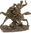 Barye Antoine Louis Esquisse pour Thesee combatant le centaure Bienor dt1
