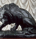 barye antoine louis lion and serpent