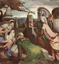 Bassano,J  The three magi, ca 1562, 92 3x117 5 cm, Kunsthist