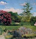 Bazille Le petit jardinier, ca 1866 67, Museum of Fine Arts,