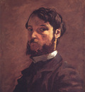 Bazille Self Portrait