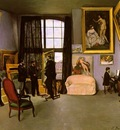 bazille the artists studio rue de la condamine,
