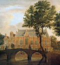 Beijer de Jan Spui with Lutherian church Sun