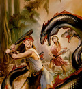 JB XXXX hercules and the hydra